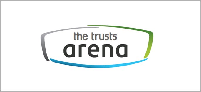 The Trusts Arena a supporting sponsor