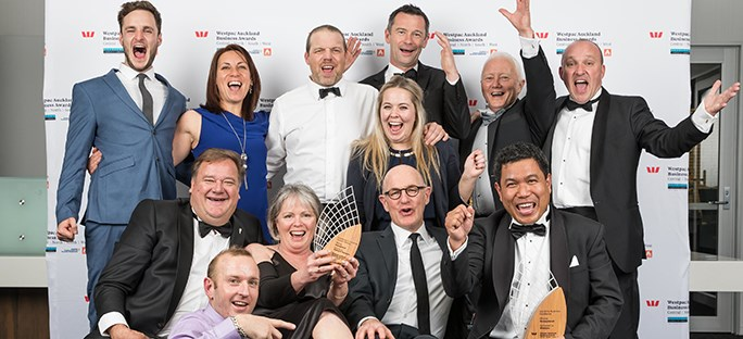 Westpac Auckland Business Awards 2017 – North